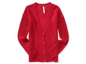 Aeropostale Womens Textured Boyfriend Cardigan Sweater 684 XS