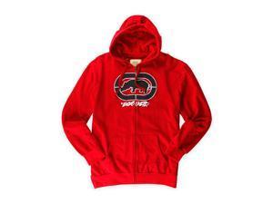 Ecko Unltd. Mens Cross Country Fleece Hoodie Sweatshirt truered S