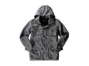 Marc Ecko Mens Multi Pocket Anorak Jacket grayheather S