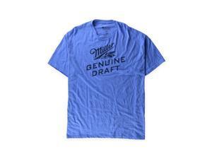 Mad Engine Mens Miller Genuine Draft Graphic T-Shirt royalheather XL