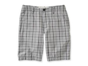 Aeropostale Mens Longer Length Casual Chino Shorts 001 32
