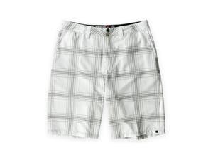 Quiksilver Mens Neolithinc Amphibians Swim Bottom Board Shorts wht 29