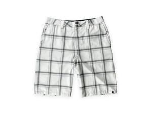 Quiksilver Mens Neolithic Amphibians Swim Bottom Board Shorts wht 30