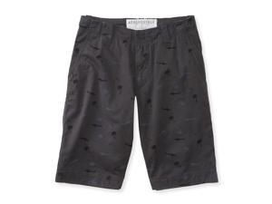 Aeropostale Mens Shark and Palm Casual Walking Shorts 008 27