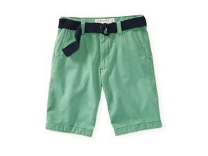 Aeropostale Mens Flat Front Casual Walking Shorts 384 27