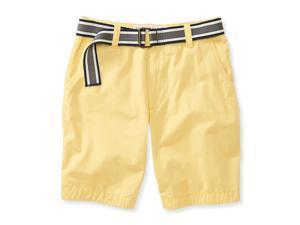 Aeropostale Mens Classic Flat Front Casual Walking Shorts 720 27