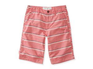 Aeropostale Mens Striped Longer Length Casual Bermuda Shorts 991 29