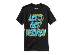 Aeropostale Boys Let's Get Weird Graphic T-Shirt 001 M