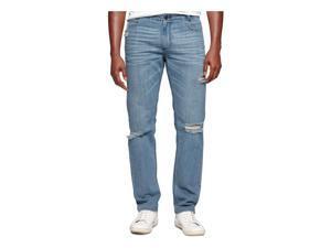 Calvin Klein Mens Slim Straight Leg Jeans slateblue 31x32