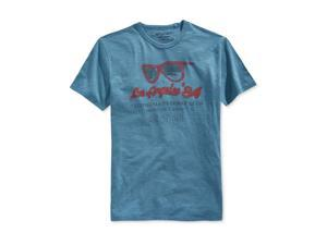 Lucky Brand Mens LA Sunglasses Graphic T-Shirt ost L