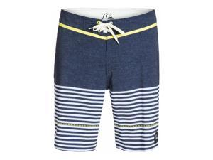 Quiksilver Mens East Side Stripe Swim Bottom Board Shorts byj3 36
