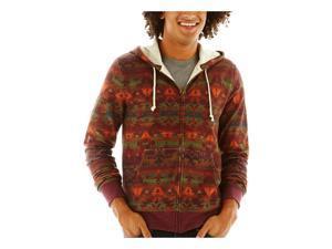 Arizona Mens Native FZ Hoodie Sweatshirt pmpknspcebkforst 2XL