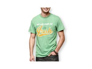 Delta Apparel Mens Not Only Single Graphic T-Shirt green L