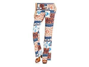 Roxy Womens Oceanside Printed Casual Lounge Pants MNL3 S/32