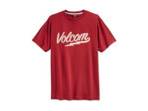 Volcom Boys Bolty Script Graphic T-Shirt cms S