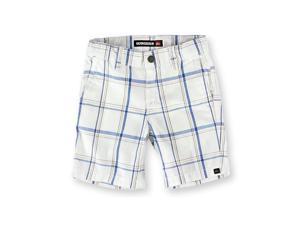 Quiksilver Boys El Capitan Plaid Casual Walking Shorts wht 4T