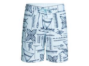 Quiksilver Mens Waterman Collection Maui Swim Bottom Board Shorts bfa0 S