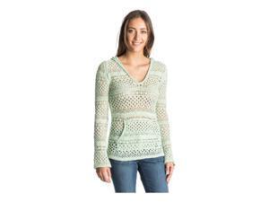 Roxy Womens Gridley Open Knit Pullover Sweater gef0 S