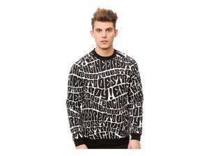 Mishka Mens The ETD Crewneck Sweatshirt black S