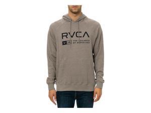 RVCA Mens The Associate Hoodie Sweatshirt athgry S
