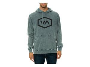 RVCA Mens The Hex VA Sweatshirt darkslate 2XL