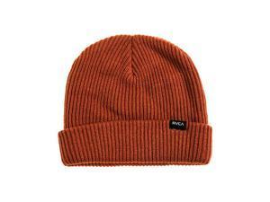 RVCA Mens The FourtyFive Beanie Hat barnred One Size