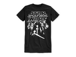 Fifth Sun Mens Stars Align Graphic T-Shirt black S