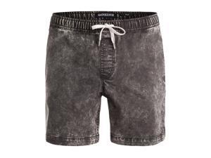 Quiksilver Mens Battering Ram Elastic Casual Denim Shorts kta0 XL