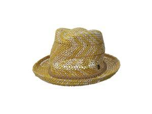 Roxy Womens Big Swell Straw Fedora Trilby Hat ycq0 M/L