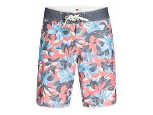 Quiksilver Mens Floral Scallop U20 Swim Bottom Board Shorts mkz6 40