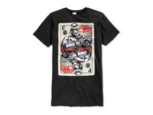 Fifth Sun Mens Card Commander Graphic T-Shirt black S