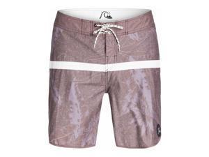 Quiksilver Mens Jungle Juice Scallop Swim Bottom Board Shorts rsh6 36