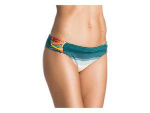 Roxy Womens 70's pant Bikini Swim Bottom npm3 XS