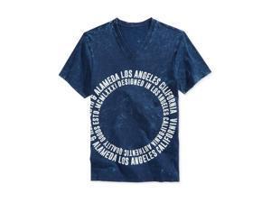 GUESS Mens Marrick SS Graphic T-Shirt indigomulti 2XL