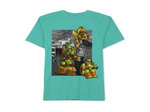 Nickelodeon Boys TMNT Arcade Time Graphic T-Shirt cockatooheather L