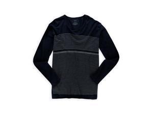 Alfani Mens Thermal Grid Basic T-Shirt navycbo 2XL