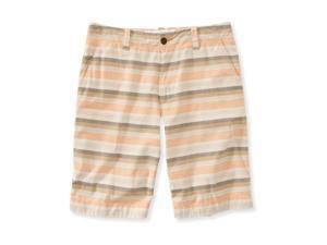 Aeropostale Mens Striped Casual Walking Shorts 277 28