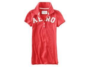 Aeropostale Womens Aero Polo Shirt redpoppy XS