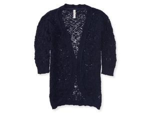 Aeropostale Womens Loose Knit Cardigan Sweater 404 S