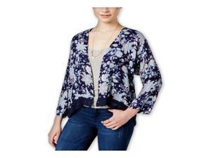 Roxy Womens Floral Open-Front Kimono Sweater btc7 S