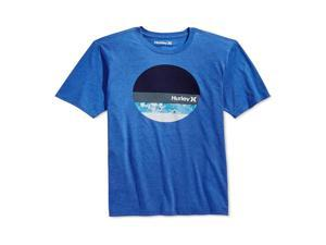 Hurley Mens Tribute Logo Graphic T-Shirt hry L