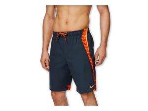 Nike Mens Drift Aweigh Splice Swim Bottom Board Shorts classiccharcoal S