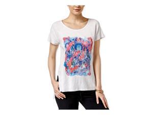 Lucky Brand Womens Buddha Graphic T-Shirt 530 XS