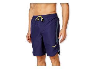 Nike Mens Core Rapid 9' Volley Swim Bottom Board Shorts midnightnavy S
