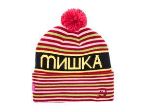 Mishka Mens The Heatseeker Pom Beanie Hat red One Size