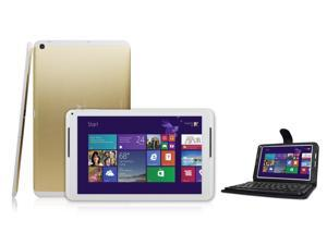 """IVIEW-i1000QW-10.1"""" Intel Quad Core Tablet with Windows 8.1 and includes Bluetooth Keyboard"""