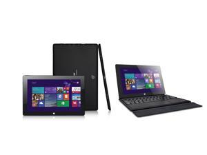 "IVIEW-Magnus 10.1"" Windows 8.1 Tablet with Intel Processor, Quad Core with PadDock Keyboard"