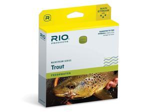Rio MainStream Trout Floating Fly Line WF3F Lemon Green