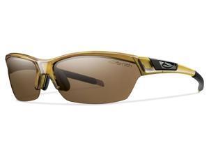 Smith Approach Sunglasses Whiskey Polarized Interchangeable UV Lenses NEW