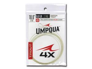 Umpqua Fly Fishing Trout Tapers 10'- 4X Leader
